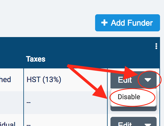 How Do I Set Up Edit Disable A Funder AlayaCare